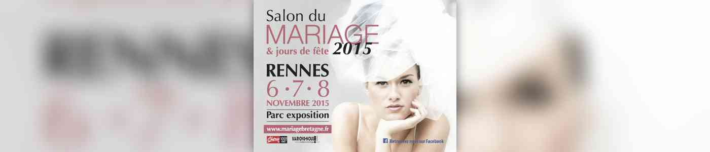salon du mariage rennes 2015 au parc des expositions de. Black Bedroom Furniture Sets. Home Design Ideas