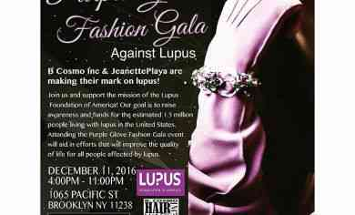 Purple Glove Fashion Gala @ Pacific Bk | Brooklyn - December