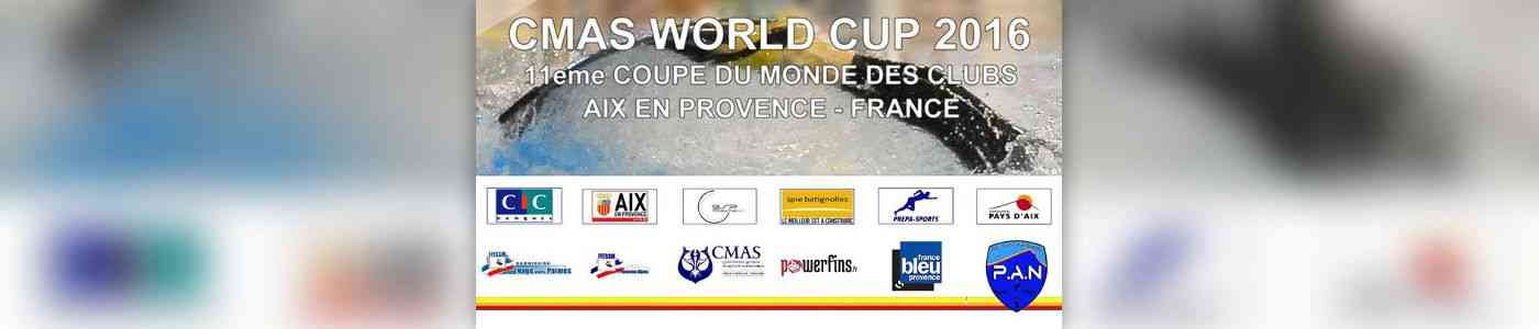 Cmas world cup 4eme etape de la coupe du monde des clubs for Piscine yves blanc aix