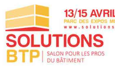 Salon solutions btp au parc des expositions p rols for Salon solutions