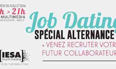job dating alternance paris 2014 Alternance contrôle de gestion - paris faubourg saint honoré (h/f)  alternance assistant attaché de presse mode homme (h/f) type de contrat : .