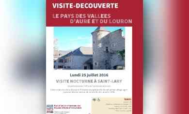 Visite nocturne saint lary au office de tourisme saint - Office de tourisme saint lary soulan 65 ...