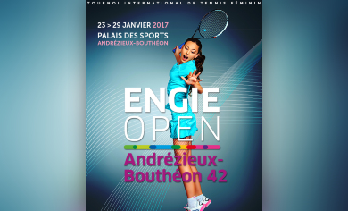 engie open andr zieux bouth on au palais des sports andr zieux bouth on janvier 2017. Black Bedroom Furniture Sets. Home Design Ideas