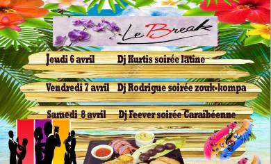 soir es latine zouk au restaurant bar le break au pontet break restaurant bar dansant le. Black Bedroom Furniture Sets. Home Design Ideas