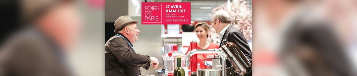 Foire de paris hall 4 stand e 122 au paris expo for Salon porte de versailles hall 4