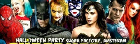 Halloween Party 2018 - Superheroes Vs Villains - Abc Amsterdam