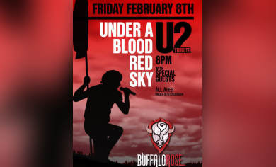 Under A Blood Red Sky (World Famous U2 Tribute) @ Buffalo