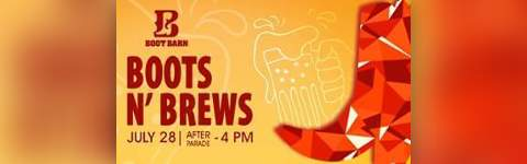 boots brews brought to you by boot barn festival park