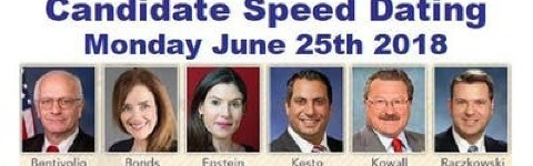 Candidate speed dating