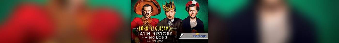 John Leguizamo Stars in Latin History For Morons on Broadway