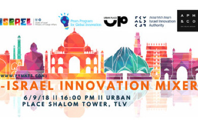 India Israel Innovation Mixer @ Urban Place Co-Working Space