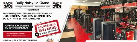 Jpo Caps Gym Noisy Le Grand Septembre 2018