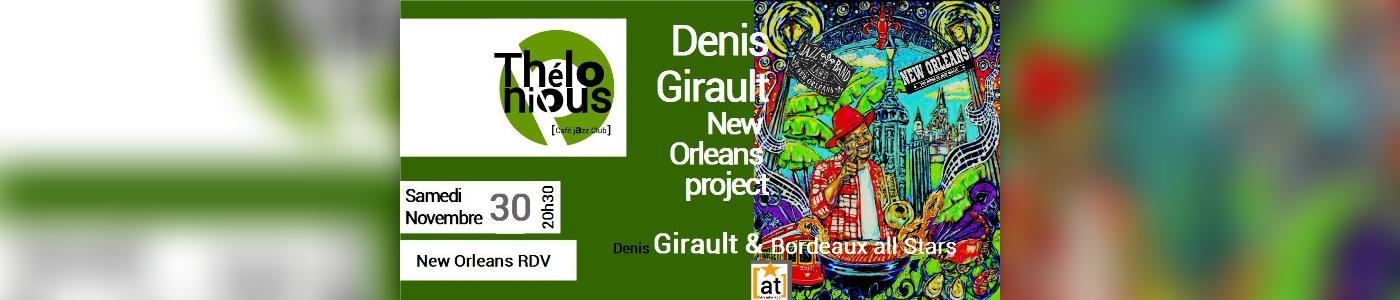 Denis Girault & The New-Orleans Project