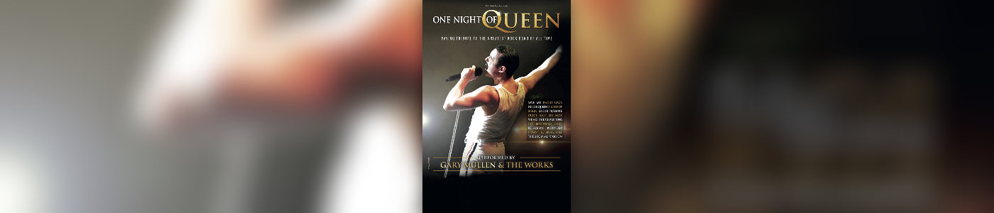 One Night of Queen performed by Gary Müllen & the Works