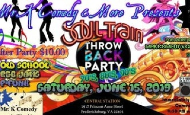 Old School Throw Back party 70s, 80s, & 90s @ 1917 Princess Anne St