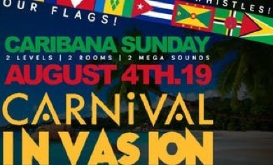 Carnival Invasion: Rep Your Flag Edition   Caribana Sunday   August
