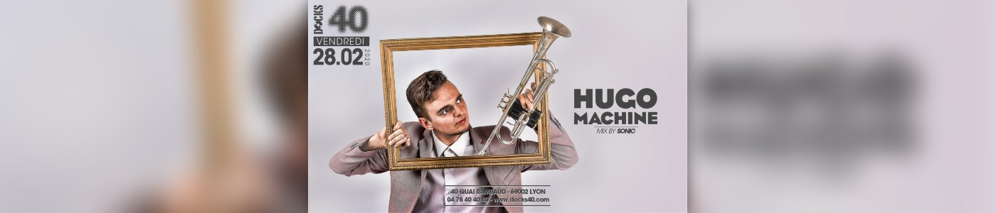 Trumpet show by Hugo Machine