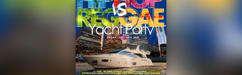 Manhattan Hip Hop vs. Reggae® Midnight Yacht Party at Cabana
