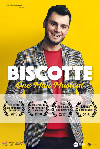 Biscotte dans One man musical