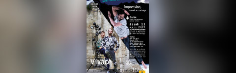 IMPRESSION NOUVEL ACCROCHAGE + VIVACE