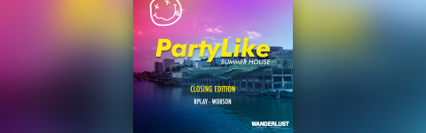 Party Like Summerhouse - OPEN AIR PARTY - 19h/2h
