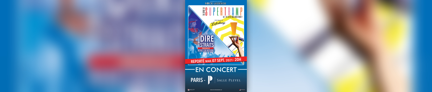 Rock Legends : Hommage à Supertramp & Dire Straits